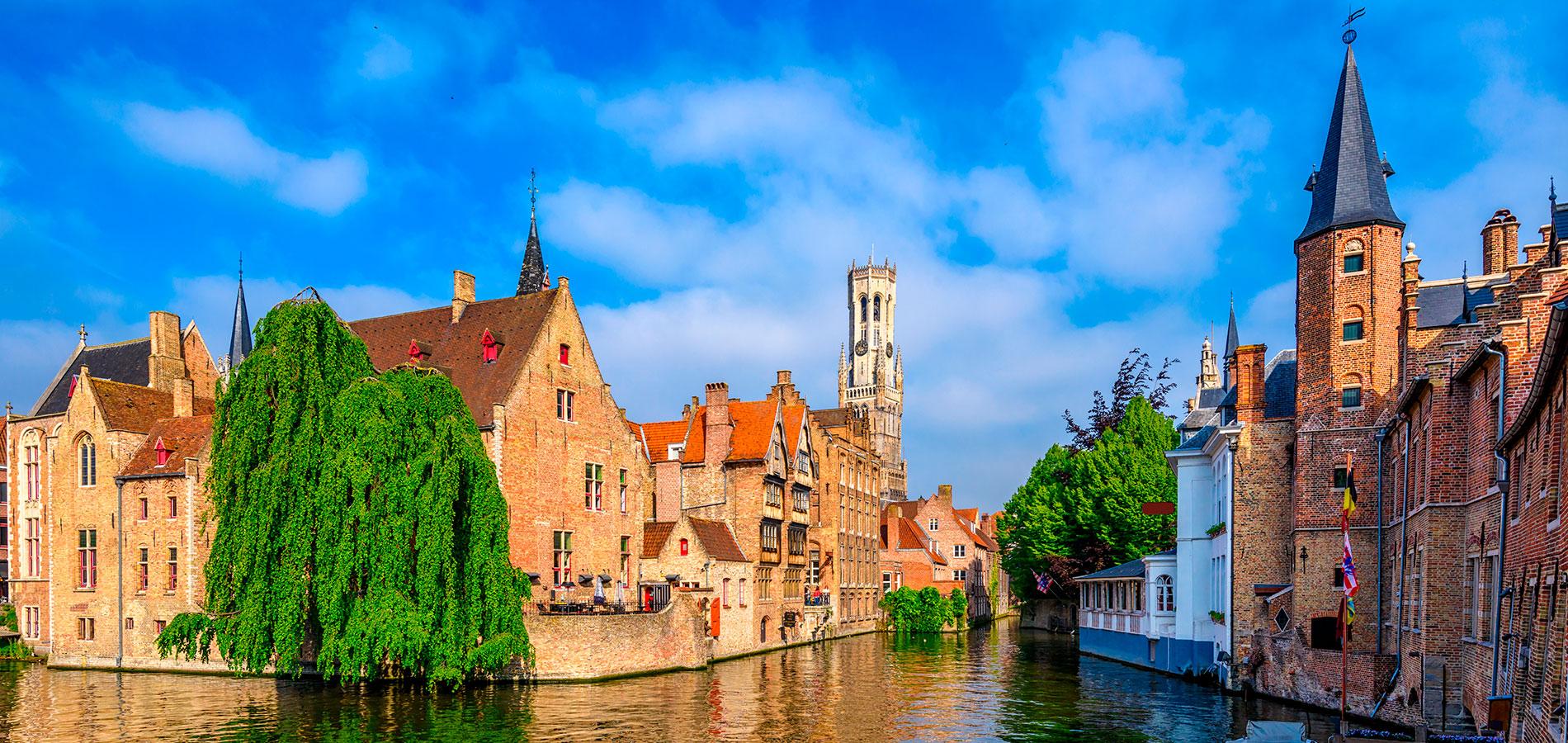 Paises Bajos y Bélgica: Historia de Europa (desde Barcelona)