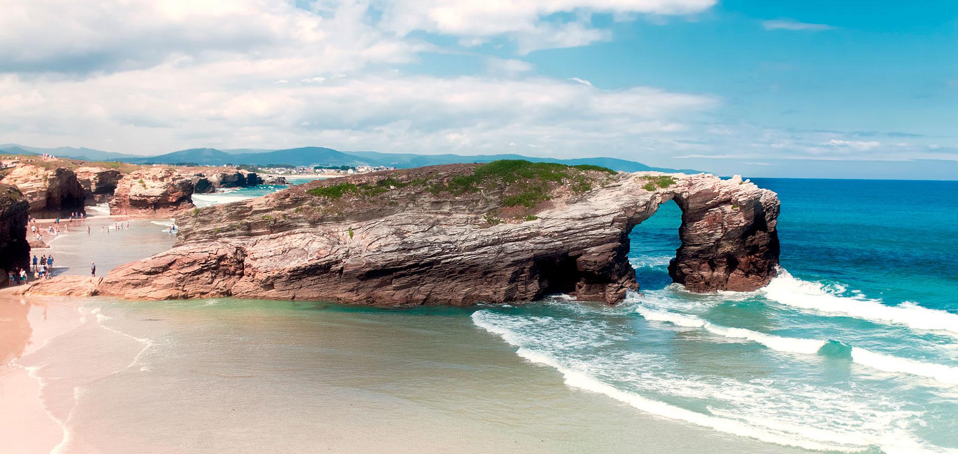 Asturias, paraíso natural con Mariña Lucense (ECO) desde Cataluña