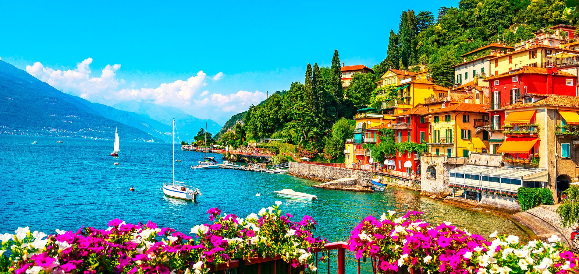 Lagos de Italia, tesoros del norte.